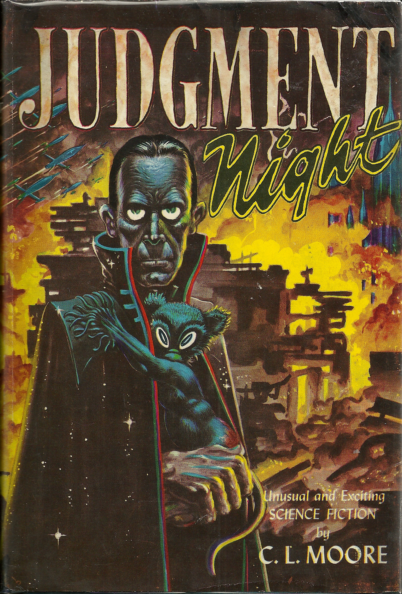 Library Additions: C. L. Moore\'s Judgment Night « Lawrence Person\'s ...