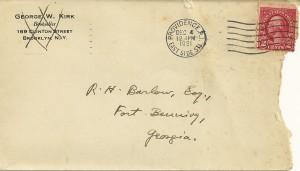 Lovecraft Envelope Front