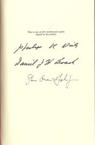 Dick Bib Signatures