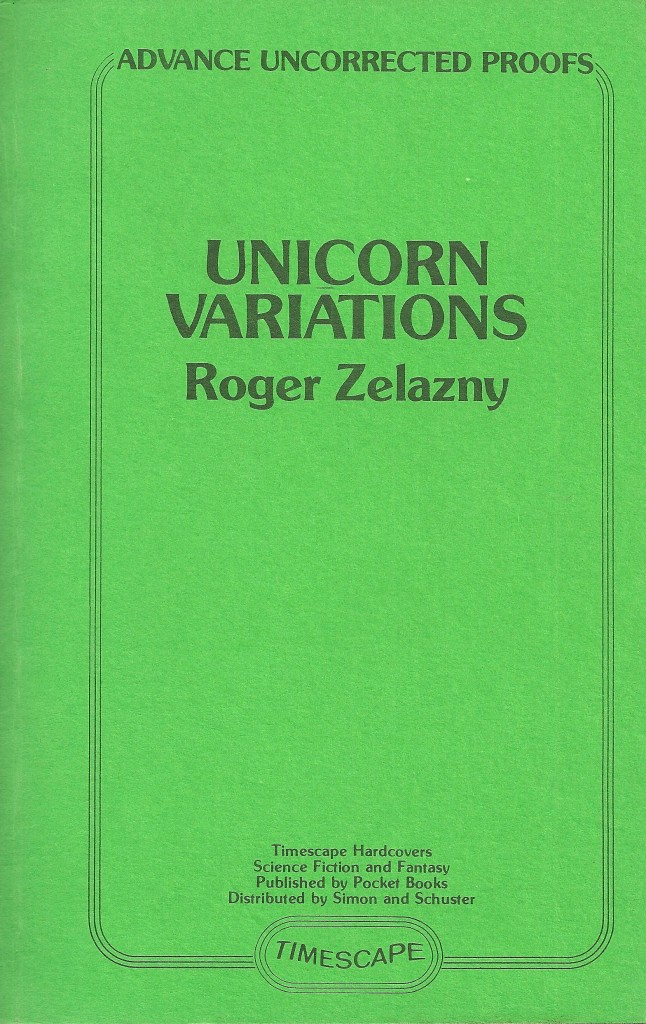 Unicorn Variations Proof