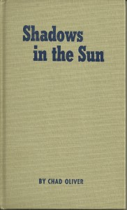 Shadows Sun Book