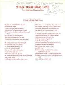 Bradbury Christmas 88