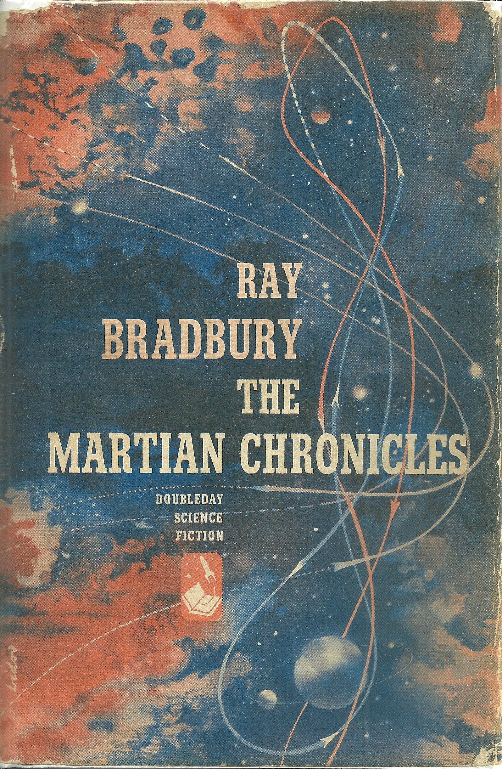 Library Addition: Signed First of Ray Bradbury\'s The Martian ...